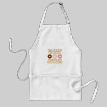 1st Grade Teacher .. Will Work For Donuts Aprons