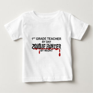 1st Grade Zombie Hunter Night Baby T-Shirt
