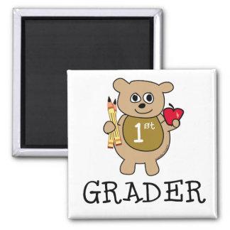 1st Grader 2 Inch Square Magnet