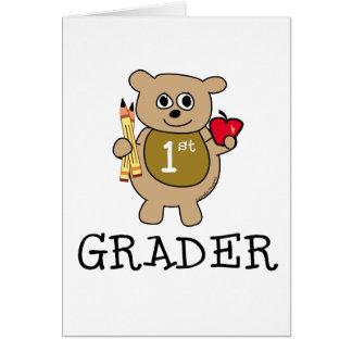 1st Grader Greeting Cards