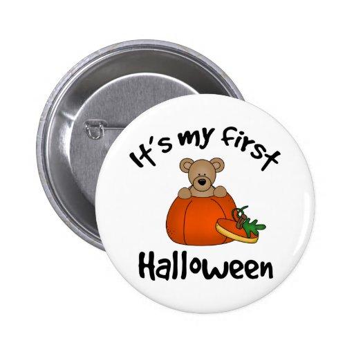1st Halloween Button