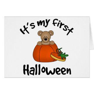 1st Halloween Card