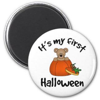 1st Halloween 2 Inch Round Magnet