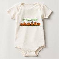 1st Halloween Onsie Baby Bodysuit