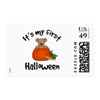 1st Halloween Stamps