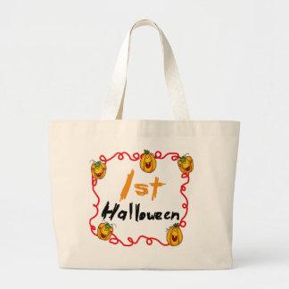 1st Halloween Tshirts and Gifts Jumbo Tote Bag