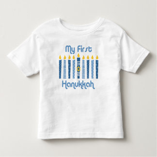 1st Hanukkah Candles Toddler T-shirt