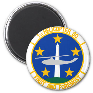 1st Helicopter Squadron 2 Inch Round Magnet