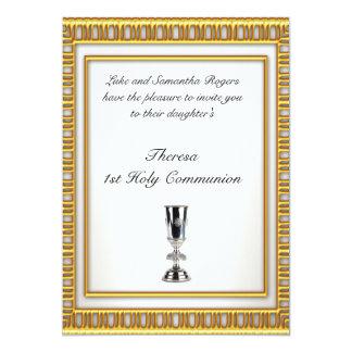 1st Holy Communion Party Invitation