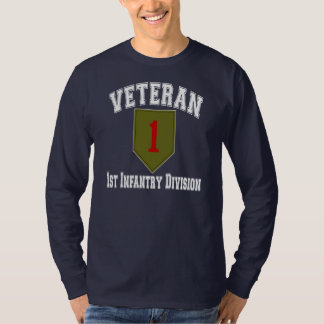 1st ID Vet - College Style T-Shirt