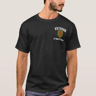 1st ID Vet - College Style T-Shirt