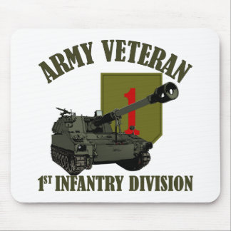1st ID Veteran - M109 Howitzer Mouse Pad