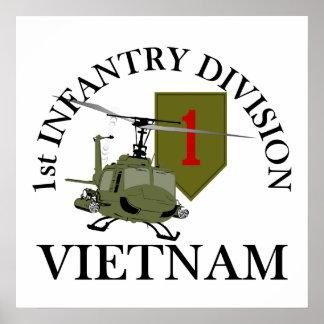 1st ID Vietnam Poster