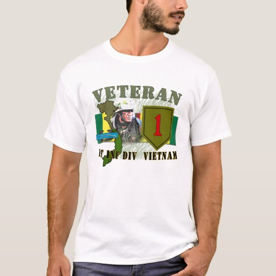 1st Inf Div-Vietnam T-Shirt