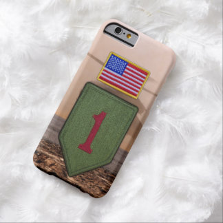 1st infantry big red 1 veterans vets barely there iPhone 6 case