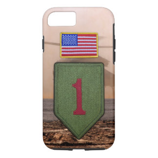 1st infantry big red 1 veterans vets iPhone 7 case