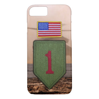 1st infantry big red 1 veterans vets iPhone 8/7 case