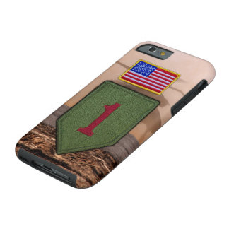 1st infantry big red 1 veterans vets tough iPhone 6 case