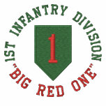 """1st Infantry """"Big Red One"""" Embroidered Polo Shirt"""