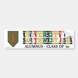 1st Infantry Div U of Southwest Asia Sticker