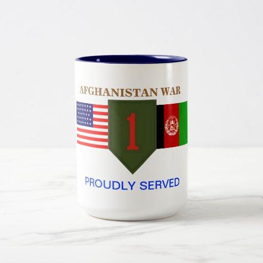 1ST INFANTRY DIVISION AFGHANISTAN WAR MUG