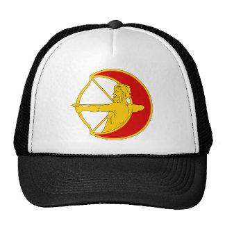 1st Infantry Division Artillery Mesh Hats