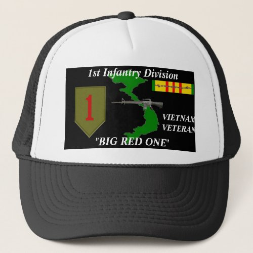 1st Infantry DivisionBig Red One Ball Caps