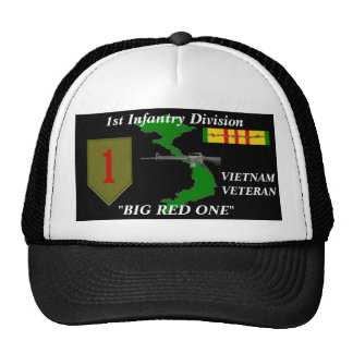"1st Infantry Division""Big Red One"" Ball Caps"