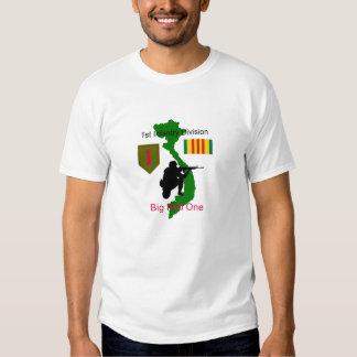 1st Infantry Division Big Red One Vietnam Vet T-Sh Tee Shirt