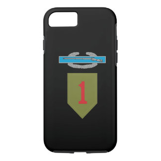 1st Infantry Division CIB iPhone 8/7 Case