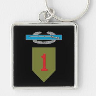 1st Infantry Division CIB Keychain