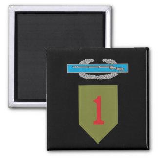 1st Infantry Division CIB Magnet