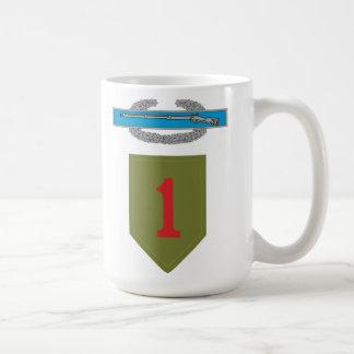 1st Infantry Division CIB Mug