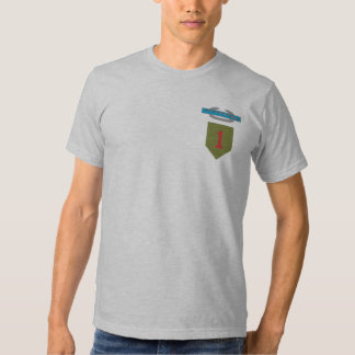 1st Infantry Division Combat Infantry Badge Tee Shirt