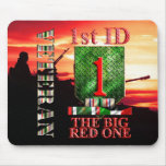 1st Infantry Division Desert Storm Veteran Mousepads