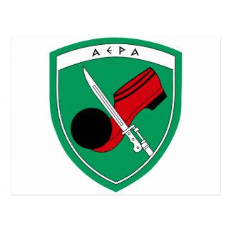 1st Infantry Division Emblem Greece Postcard