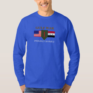 1ST INFANTRY DIVISION GULF WAR L/S T-SHIRT