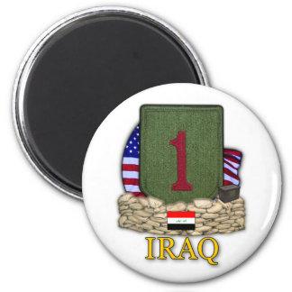 1st infantry division iraq war veterans Magnet
