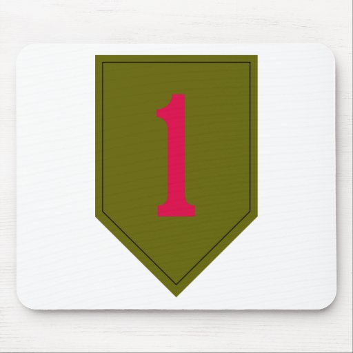 1st Infantry Division Mouse Pad