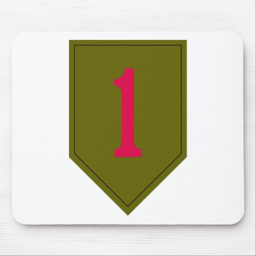 1st Infantry Division Mousepad
