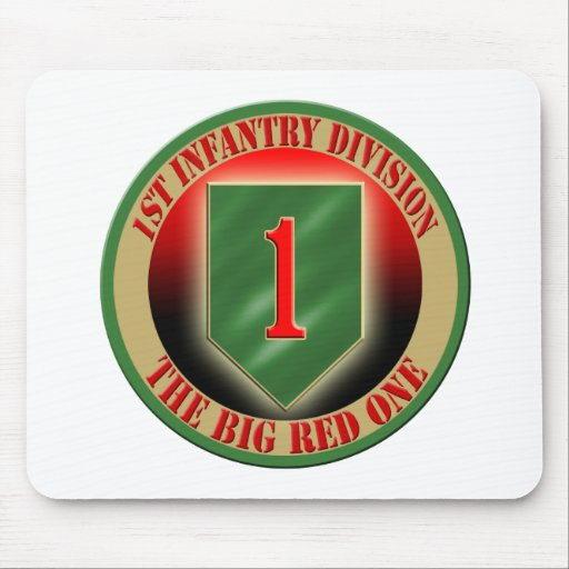 1st Infantry Division Mouse Pads