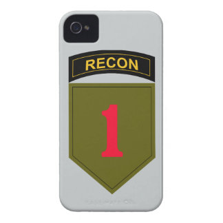 1st Infantry Division Recon iPhone 4 Case-Mate Case