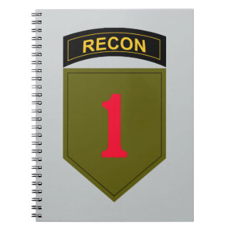 1st Infantry Division Recon Notebook