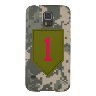 """1st Infantry Division """"The Big Red One"""" Galaxy S5 Cover"""