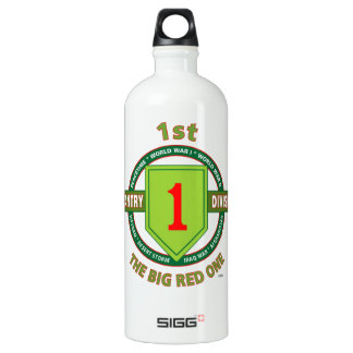"""1ST INFANTRY DIVISION """"THE BIG RED ONE"""" WATER BOTTLE"""