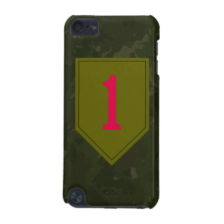 """1st Infantry Division """"The Big Red One"""" WW II Camo iPod Touch (5th Generation) Cover"""