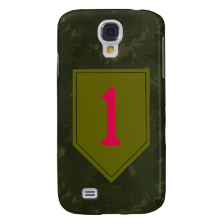 """1st Infantry Division """"The Big Red One"""" WW II Camo Samsung Galaxy S4 Cover"""