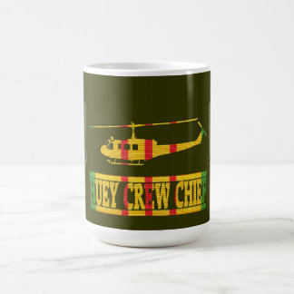 1st Infantry Division UH-1 Huey Crew Chief Mug