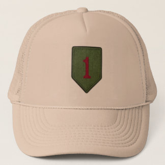 1st infantry division veterans vets patch Hat