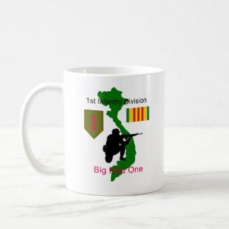 1st Infantry Division Vietnam Vet Coffee Cup/Mug Coffee Mug